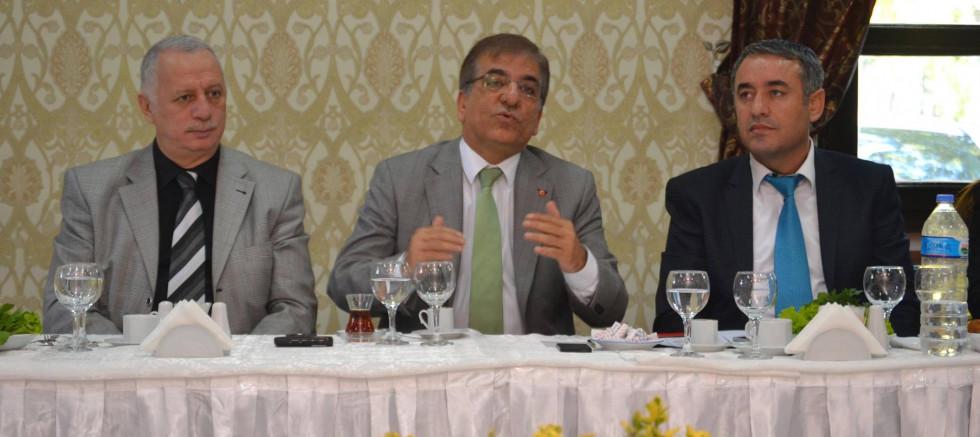 Ak Parti Bursa İl Başkanı Sedat Yalçın ile Radyolar Buluşması