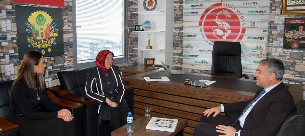Ak Parti Bursa Milletvekili Emine Yavuz Gözgeç Şirin Medya Grup'ta