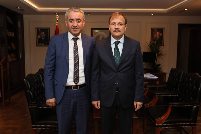 Bakanımız Hakan Çavuşoğlunu Çankaya Köşkünde Ziyaret ettik