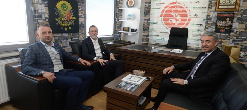 BTSO Başkanı İbrahim Burkay ,Bursa Fm Radyo En Stüdyolarında ağırladık