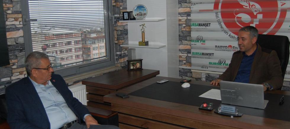 CHP İl Başkanı Hüseyin Akkuş Şirin Medya Grup'ta